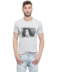 Dolce & Gabbana Mini Rib Jersey Monica Bellucci T-shirt - Lyst