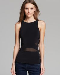 Elizabeth And James Tank Theia Peplum - Lyst