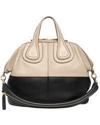 Givenchy Medium Nightingale Two Tone Leather Bag - Lyst