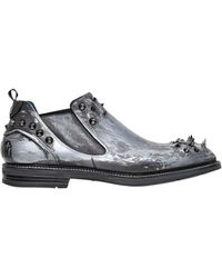 Ishu+ - Special Edition Studded Beatle Boots - Lyst