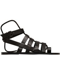 Pierre Hardy Calf Leather Sandals - Lyst
