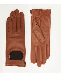Rag & Bone Brown Racer Glove - Lyst