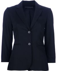 The Row Single Breasted Blazer - Lyst