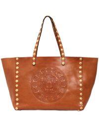 Valentino Gryphon Studded Leather Shoulder Bag - Lyst