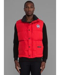 Canada Goose vest replica price - Canada goose Freestyle Vest in Blue for Men (Pacific Blue) | Lyst