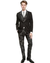 Tonello - 185cm Cotton Camouflage Tuxedo Trousers - Lyst