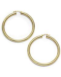1AR By Unoaerre - Classic Hoop Earrings225 Inches - Lyst