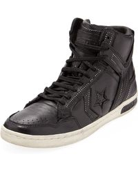 Converse Weapon Ball Chain Hightop Sneaker Black - Lyst