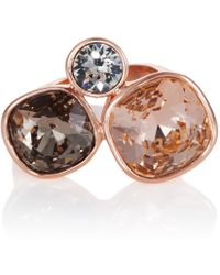 Aurora - 18ct Rose Gold Plated Kailua Ring - Lyst