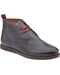 Ben Sherman Aberdeen Leather Boots - Lyst