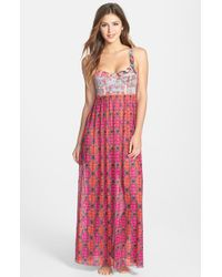 Maaji Sublime Blimey Cover Up Maxi Dress - Lyst