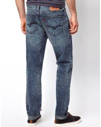 Levi's Jeans 508 Tapered Slatted Mid Wash - Lyst