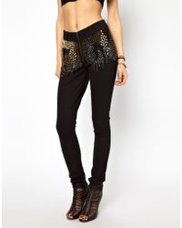One Teaspoon Ride The Wind Trousers with Embellishment - Lyst