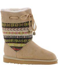 Love From Australia - Aztec Short Boots - Lyst