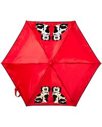 Lulu Guinness Tiny 2 Two Of A Kind Umbrella red - Lyst