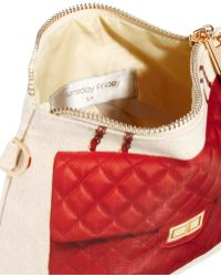 Thursday Friday - Red Diamonds Here Pochette Cosmetic Bag - Lyst