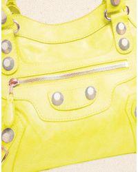 Thursday Friday - Acid Yellow Moto Pochette Cosmetic Bag - Lyst