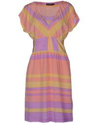 Antik Batik Yellow Short Dress - Lyst
