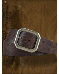 Denim & Supply Ralph Lauren - Leather Trench Buckle Belt - Lyst