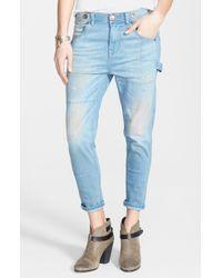 Free People Boyfriend Jeans - Lyst