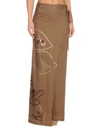 Gentry Portofino Brown Sarong - Lyst