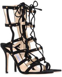 Jimmy Choo Highheeled Sandals - Lyst