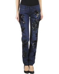 Quality Free Shipping Original For Sale DENIM - Denim trousers P.A.R.O.S.H. Buy Cheap New Arrival frpVMsvV2m