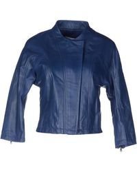 See By Chloé Leather Outerwear - Lyst