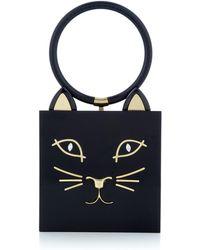 Charlotte Olympia - Kitty Box Clutch - Lyst
