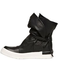 Cinzia Araia 60Mm Leather High Top Sneakers - Lyst