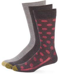 Goldtoe - Three-pack Performance Socks - Lyst