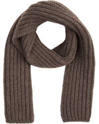 Barneys New York Chunky-knit Scarf - Lyst