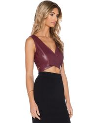 6 Shore Road By Pooja - Magical Wrap Crop Top - Lyst