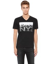 DKNY Jeans Photo Logo Tee - Lyst