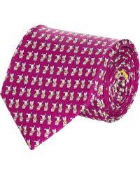 Ferragamo Puppy  Kitten Tie - Lyst