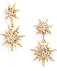 BaubleBar Gold Celestial Drops - Lyst