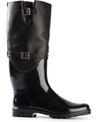 Jimmy Choo Black Carson Boots - Lyst