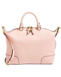Tory Burch 'Frances' Slouchy Leather Satchel - Lyst