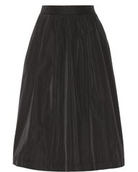 Day Birger Et Mikkelsen Night Flicker Taffeta Midi Skirt - Lyst
