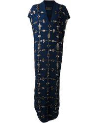 By Malene Birger Double Rhinestone Dress - Lyst