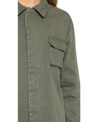 One Teaspoon - Artillery Shirt - Khaki - Lyst