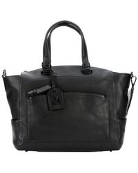 Reed Krakoff Black Leather Large Convertible Tote Bag - Lyst