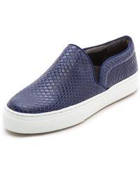 Schutz Amisha Slip On Sneakers Blue - Lyst
