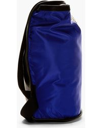 Silent - Damir Doma - Indigo and Black Berry Backpack - Lyst