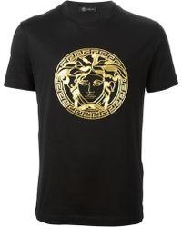 Versace Medusa Sequin T-Shirt - Lyst