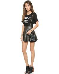 Love Leather - The Legs Legs Legs Skirt - Army Baby - Lyst
