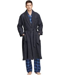 Brooks Brothers Cashmere and Wool Robe - Lyst