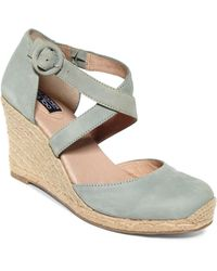 Me Too - Adam Tucker Bria Espadrille Wedge Sandals - Lyst