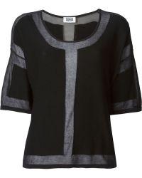 Sonia By Sonia Rykiel Semi-sheer Sweater - Lyst