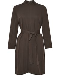 Rick Owens Belted Jersey Tunic - Lyst